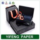 custom made Elegant paper cardboard tie boxes sale