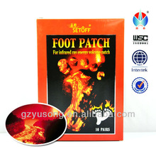 infrared Volcanic energy Acupoint-Purifying & Eliminating aroma Promoting sleeping healthcare detox foot patch