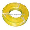 Ul1007 22 awg fio elétrico( duas cores amarelo e verde)