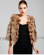 CX-G-A-121B New Fashion Women Fox Fur Winter Clothes