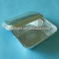descartáveis de alumínio tira a caixa de almoço
