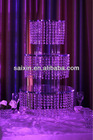 Beautiful crystal cake stand for wedding & event