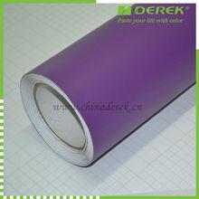 Matte car vinyl wrap purple/protective film