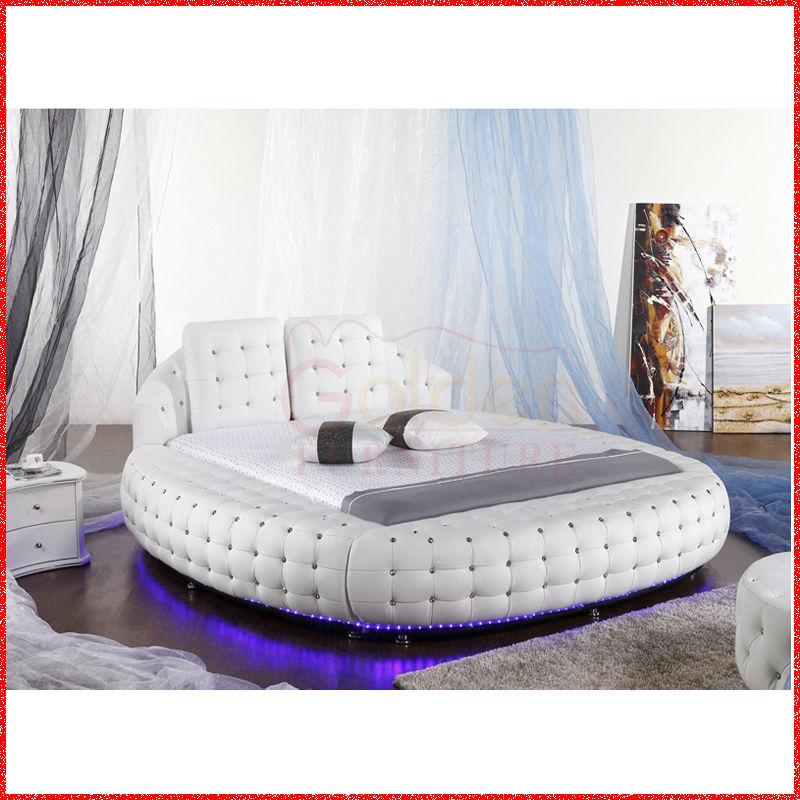 led lather round beds australia market hot sale buy round bed australia round bed australia. Black Bedroom Furniture Sets. Home Design Ideas