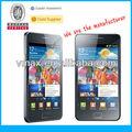 Teléfono móvil protector de pantalla transparente para sam i9100 oem/odm( de alta claro)