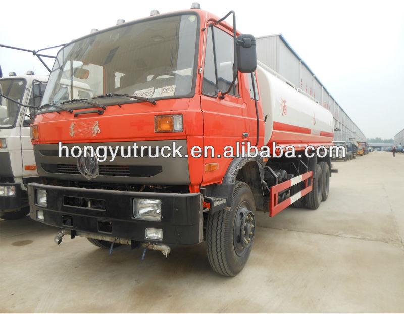 Dongfeng o howo 6 * 4 de agua camión cisterna