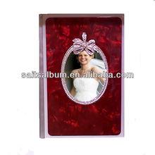 Glass cover photo album producer_photo book wholesale_picture album