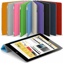 Wholesales Thin Magnetic Protective Flip Smart Cover Skin Case Stand for iPad Mini