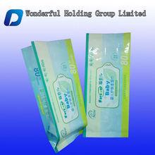 Baby wet wipes packaging bag/ tissue/napkin bag