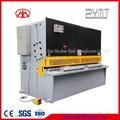 péndulo hidráulico placa de corte de la máquina