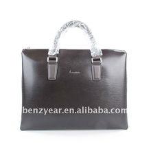 Espanol style leather fashion laptop briefcase