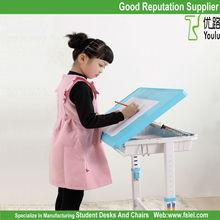 ergonomic adjustable kids study table chair for children
