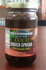 COCONUT CHOCOLATE SPREAD / JAM. Made of Ground Cacao Coconut Milk & Coconut Sugar