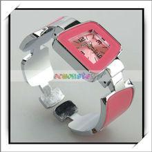 New Popular !! Fashion Digital Bracelet Watch Pink -16005089
