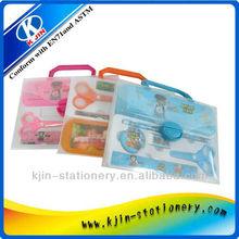 fashion PP case stationery set for children