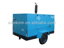 7 - 20 bar and 213 - 1136 CFM diesel power mobile screw air compressor