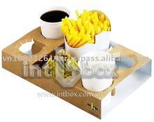 fastfood box, paper box tray, folding box