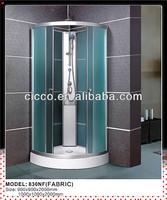 Hot Sale Cheap Fabric Glass Steam Room Shower