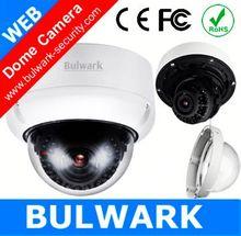 Bulwark Dome POE web camera 5MP Vandal proof Night vision wireless ir underwater wifi ip camera