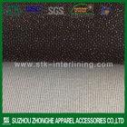 100% polyester warp knitting weft insert garment interlining fabric