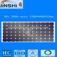 200w power solar/solar energy panels