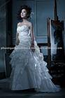 PA10-058 Sweetheart neckline luxury crystal beaded wedding dress