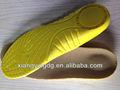 cómodo plantillas de la pu para los zapatos