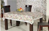 Latest design beautiful printed vinyl pvc lace tablecloth