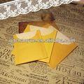 melhor venda cor dobrável de casamento impresso cartões de lugar