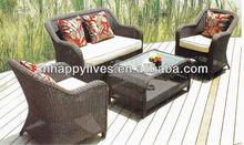 Garden treasures patio furniture company home casual outdoor furniture Outdoor hotel patio sofa furniture (HL-9003)