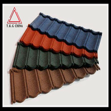 color stone coated steel roofing tiles