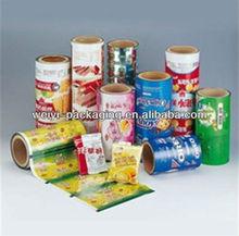 FDA Certified SAFETY FOOD GRADE plasic film rolls of translucent paper