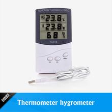 termometro digitale interno esterno igrometro con sensore