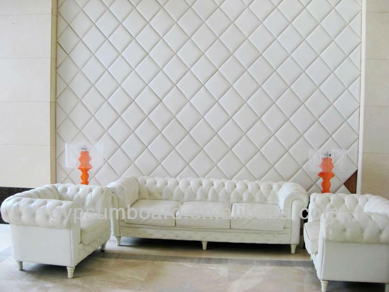 En fiber de verre acoustique d coratif int rieur panneau mural conception par - Panneau acoustique maison ...