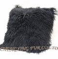 Cx-d-04 di pelliccia di agnello mongolo cuscino copertura della sedia