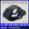 For HONDA 1997-1998 windscreen cbr 600 f3 FWSHD006
