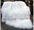Cx-d-23 tibetana real de piel de cordero de peluche manta