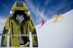 Fashion waterproof ski jacket for men