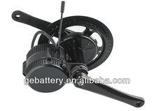 8fun/bafang/bafun motor 2014 BBS-01central driven Motor/crank motor Mountain bike conversion kit