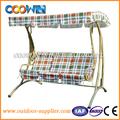 jardín de hierro silla del oscilación