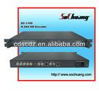 Digital CATV/IPTV Headend Equipment/H.264 HD Encoder IP Audio