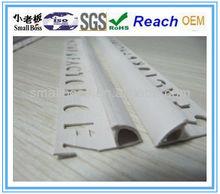 plastic tile edge trim for wall decoration