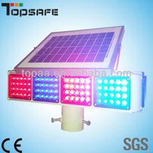 Solar Traffic Warning Light with CE