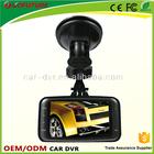 2.7LCD IR led night vision full 1080p GS8000 motion detect G-sensor Novatek car rear view camera,reverse car camera,car camera.