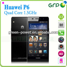 China huawei mobile phone ascend p6 4.7inch smartphone quad core 2gb 8gb dual camera