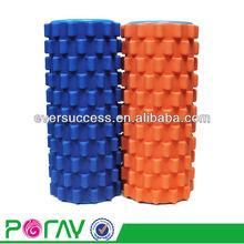 Eco-friendly high density EVA foam yoga foam roller/hard with massage bubble
