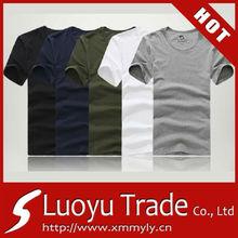 ผ้าฝ้าย100%ผู้ชายเสื้อยืด