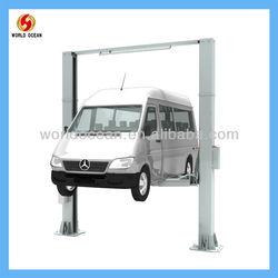 7000kgs car 2 post lift for large vehicle/ mini bus