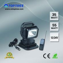 HID Remote Car Light Search Spotlight 12V 24V 55W 75W