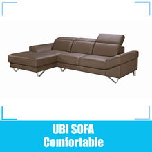 2013 new model sofa leather chaise lounge